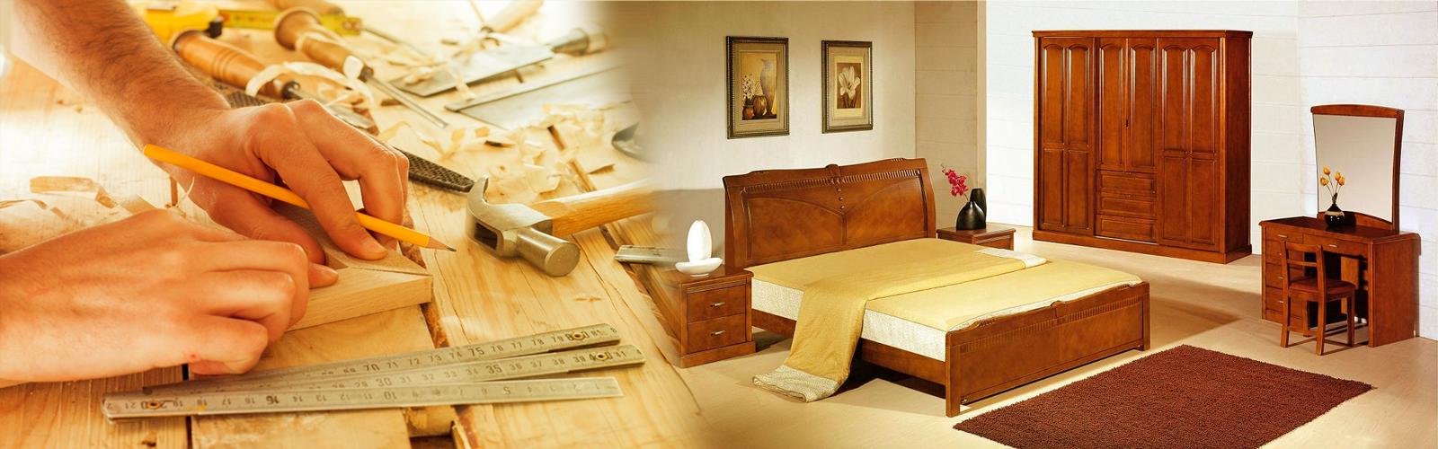 banner nội thất gỗ vinh