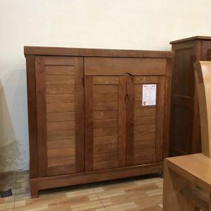 tủ giày gỗ cao cấp xoan đào